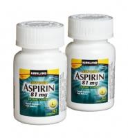 Kirkland Low Dose Aspirin 81 mg: Thuoc hỗ trợ và điều trị các triệu chứng đau đầu nhanh chóng, 365 viên