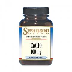 Swanson CoQ10: Viên uống hỗ trợ chức năng tim và mạch máu, 120 viên, 60mg