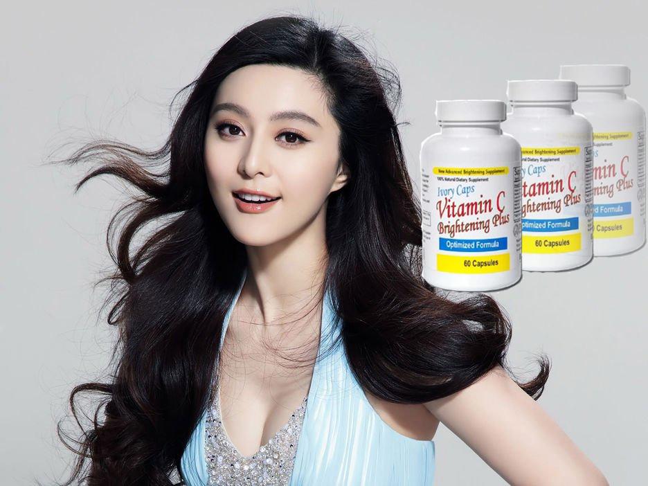 Ivory Caps Vitamin C cho bạn làn da trắng sáng, mịn màng, tươi trẻ