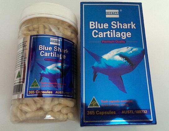 Costa Blue Shark Cartilage: Thuốc hỗ trợ điều trị xương khớp