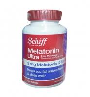 Thuốc trị mất ngủ Schiff Melatonin Ultra 3mg 300 viên hiệu quả nhất