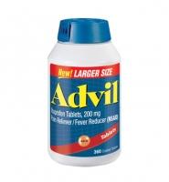 Thuốc giảm đau Advil  Ibuprofen, 200mg -  Nhanh chóng làm dịu các cơn đau.