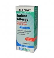 BioAllers Indoor Allergy Nasal Spray 24 ml: Thuốc xịt đặc trị hiệu quả các triệu chứng viêm xoang, hắt hơi, đau đầu.