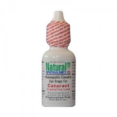 Natural Ophthalmics Homeopathic Cineraria Eye Drop For Cataract - Nước nhỏ mắt cho bệnh đục thủy tinh thể, 15ml.