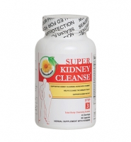 Super Kidney Cleanse: Thuốc làm sạch, giải độc và hỗ trợ các chức năng thận, 90 viên.