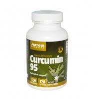 Jarrow Curcumin 95, 120 viên, 500mg - Thuốc trị đau dạ dày, tá tràng và Hỗ Trợ Điều Trị viêm gan, ung thư
