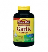 Nature Made Garlic complex - Thuoc viên tinh dầu tỏi Giảm Nguy Cơ Ung Thư & Viêm Đại Tràng, 300 viên.