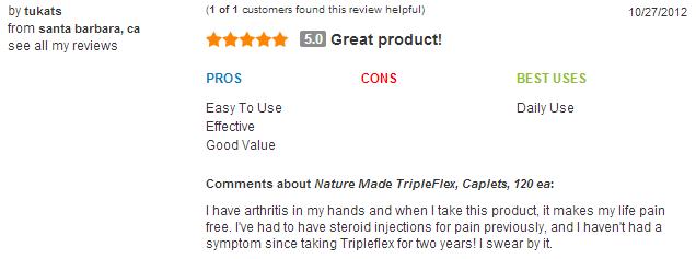 Nature made tripleflex triple viên bổ sung glucosamin, chondroitin tốt cho xương khớp, 170 viên