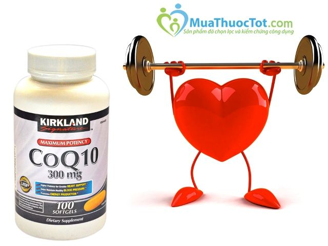 Thuốc hỗ trợ tim mạch Kirkland CoQ10 3