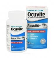 Bausch & Lomb Ocuvite Adult 50 + 50 viên, Thuốc Bổ Mắt cho độ tuổi 50 trở lên