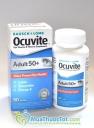 Bausch & Lomb Ocuvite Adult 50 + 50 viên, Viên Uống Bổ Mắt cho độ tuổi 50 trở lên