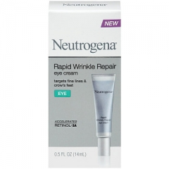 Kem xóa nếp nhăn mắt : Neutrogena Rapid Wrinkle Repair eye cream 14ml