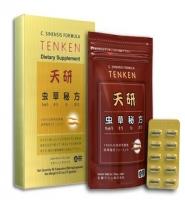 Đông trùng hạ thảo Ten Ken của Nhật Bản: Vị thuốc quý cho tất cả mọi người, 60 viên.
