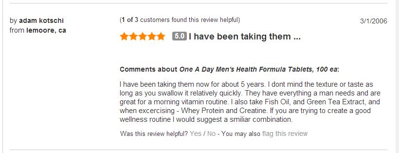 One a day men's multivitamin health formula - viên bổ sung vitamin và khoáng chất thiết yếu cho nam giới, 300 viên
