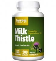Jarrow Formulas Milk Thistle 150 mg 200 viên: Thuốc điều trị các bệnh về gan và hỗ trợ chức năng gan