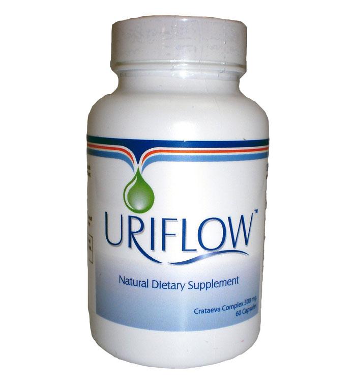 Uriflow Natural Treatment for Kidney Stones 500Mg: Viên uống ngăn chặn và hỗ trợ điều trị bệnh sỏi thận, 60 viên