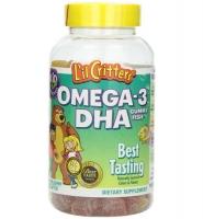 L'il Critters Omega-3 plus DHA Gummy Fish, 120 viên: Kẹo dẻo bổ sung DHA giúp trẻ thông minh vượt trội.