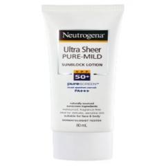 Neutrogena Puremild Sunblock SPF50 - Kem Chống Nắng cho Da Nhạy Cảm, 80ml