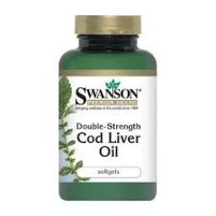 Swanson Cod Liver Oil, Dầu gan cá tuyết 250 viên nang mềm