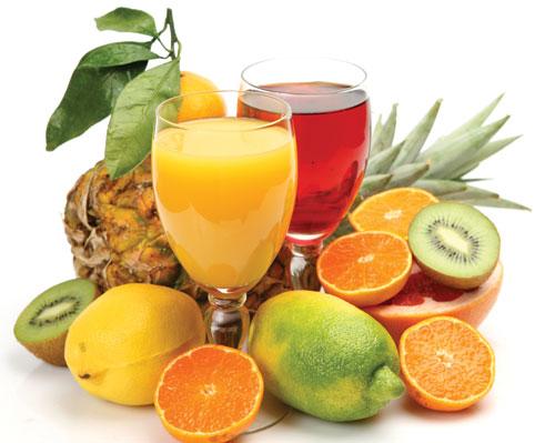 Nước ép hoa quả cũng có thể làm trắng da