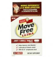 Schiff Move Free Ultra Thuốc hỗ trợ điều trị bệnh xương khớp, chống loãng xương, 30 viên