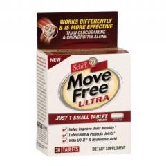 Schiff Move Free Ultra Viên uống hỗ trợ điều trị bệnh xương khớp, chống loãng xương, 30 viên