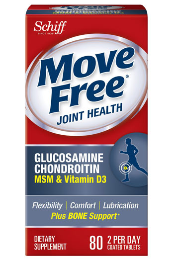 Move Free Glucosamine Chondroitin MSM and Vitamin D3