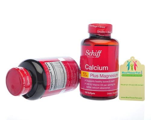 Lợi ích cụ thể mà thuốc Calcium-Magnesium của Schiff mang lại cho người sử dụng là gì?