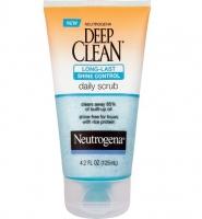 Neutrogena: Sữa rửa mặt chống nhờn, sạch sâu OilFree Deep Clean Gentle Scrub, 4.2g