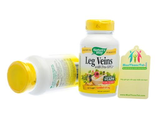 Thuốc chữa trị suy giãn tĩnh mạch chân Nature's Way Legs Veins 3