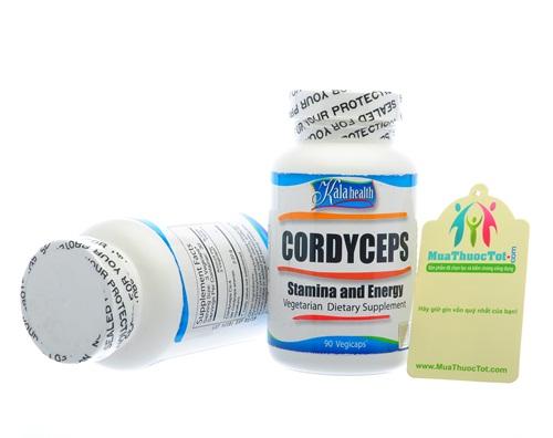 Cordyceps KaLa Health - Trùng Thảo chay giúp Tăng sức Bền, Tràn Đầy Sức Sống và Năng Lượng
