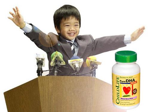 bổ sung DHA giúp trẻ phát triển não bộ