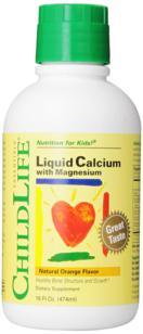 Childlife Liquid Calcium and Magnesium with Vitamin D cho trẻ chiều cao lý tưởng
