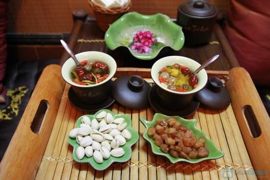 Trà Táo Gai và Cam thảo giúp giảm lượng mỡ trong máu