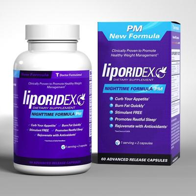 Liporidex Nighttime Formula Pm