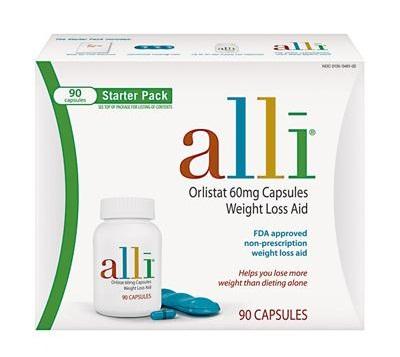 thuốc giảm cân Alli Orlistat Weight Loss Aid