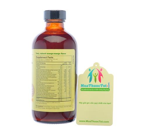 Thành phần Chidlife Vitamin & Mineral thực phẩm chức năng cung cấp vitamin và khoáng chất