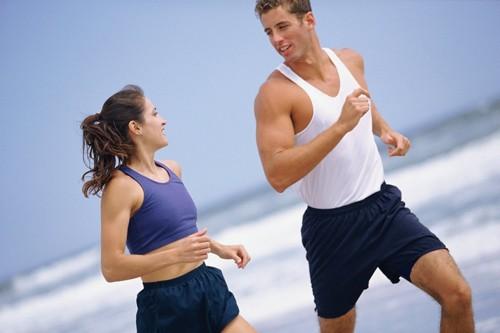 Tập thể dục và ăn uống hợp lý