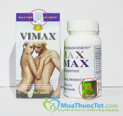 Vimax pills thật