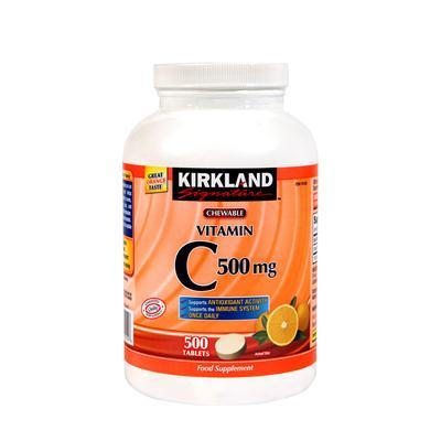 Kirkland Signature Vitamin C 500mg