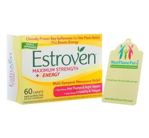 Estroven Maximum Strength hỗ trợ phụ nữ tiền mãn kinh