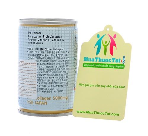 Thành phần UMI Collagen Taurine & Vitamin C 5000mg