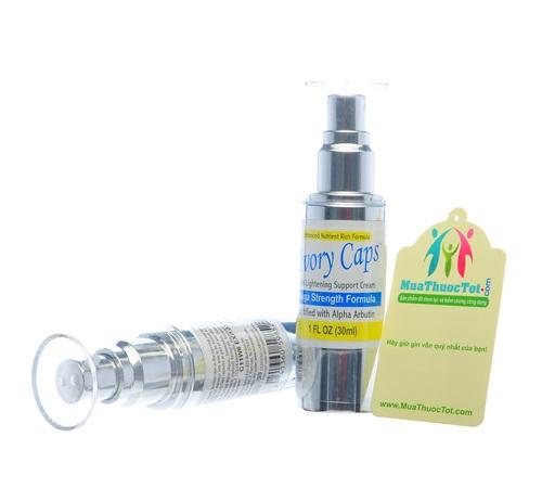 Ivory Caps Skin Whitening Lightening Support Cream bổ sung dưỡng chất làm trắng da hiệu quả