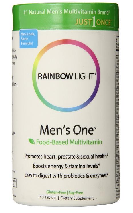 RainBow Light Men's One Multivitamin bổ sung Vitamin, khoáng chất cho cơ thể nam giới