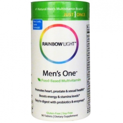RainBow Light Men's One Multivitamin, 150 viên: Bổ sung hiệu quả Vitamin và khoáng chất cho nam giới