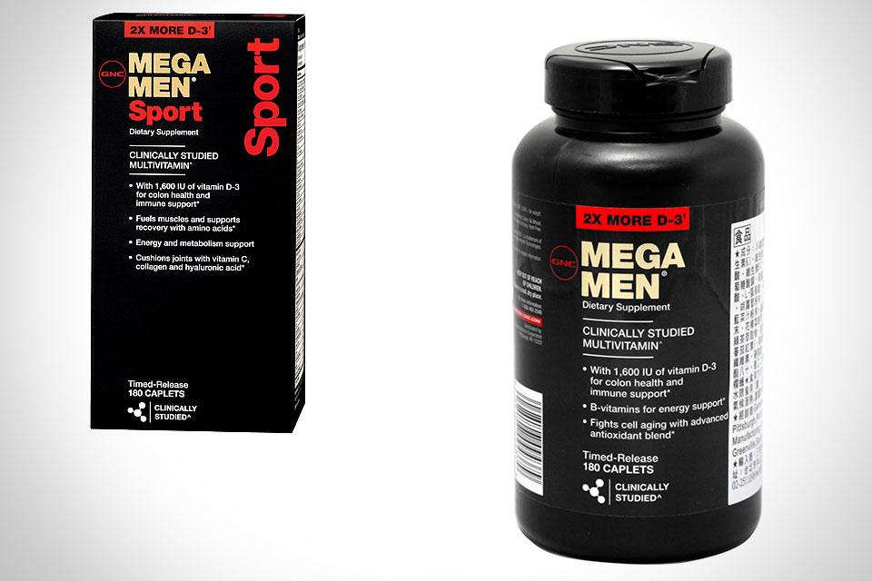GNC Mega Men Sport bổ sung Vitamin và các khoáng cho nam giới