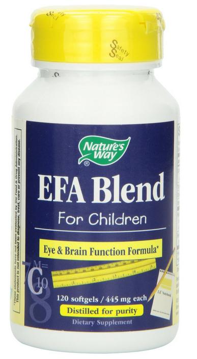Nature's Way EFA Blend for Children kích thích não trẻ phát triển