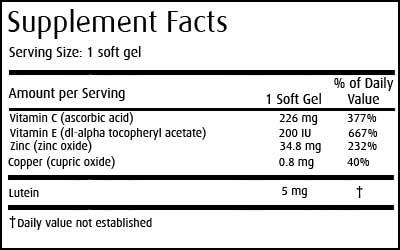 Bốn loại giúp thuốc tăng cường thị lực tốt nhất hiện nay