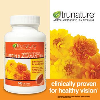 Trunature Lutein and Zeaxanthin sản phẩm chứa tinh hoa hướng dương