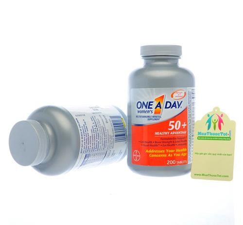 One A Day® Women's 50+ Healthy Advantage bổ sung dinh dưỡng cho phụ nữ trên 50 tuổi